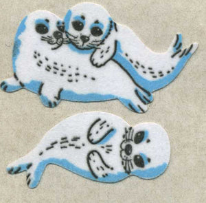 Pack of Furrie Stickers - Seals