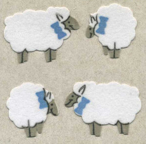 Pack of Furrie Stickers - Sheep