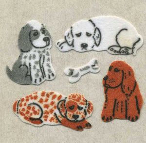 Pack of Furrie Stickers - Puppies & Bones