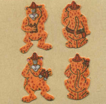 Load image into Gallery viewer, Pack of Furrie Stickers - Leopards