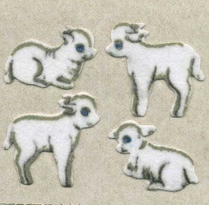 Pack of Furrie Stickers - Lambs