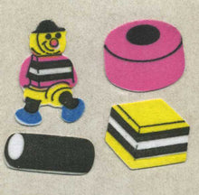 Load image into Gallery viewer, Pack of Furrie Stickers - Liquorice Allsorts