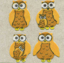 Load image into Gallery viewer, Pack of Furrie Stickers - Mother & Baby Owl