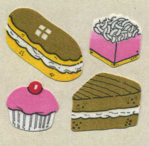 Pack of Furrie Stickers - Cakes