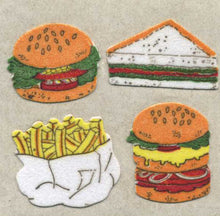 Load image into Gallery viewer, Pack of Furrie Stickers - Fast Food