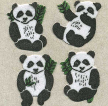 Load image into Gallery viewer, Pack of Furrie Stickers - Pandas