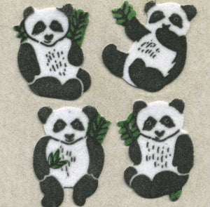 Pack of Furrie Stickers - Pandas