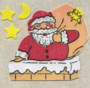 Pack of Furrie Stickers - Santa