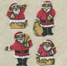 Load image into Gallery viewer, Pack of Furrie Stickers - Mini Santas