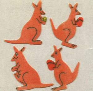 Pack of Furrie Stickers - Kangaroos