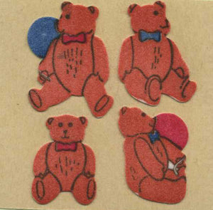 Pack of Furrie Stickers - Traditional Teddies