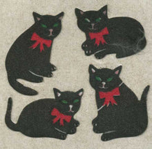 Load image into Gallery viewer, Pack of Furrie Stickers - Black Cats