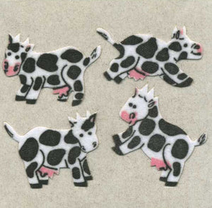 Pack of Furrie Stickers - Cows