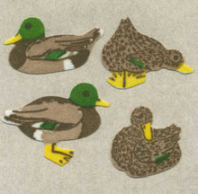 Load image into Gallery viewer, Pack of Furrie Stickers - Mallard Ducks