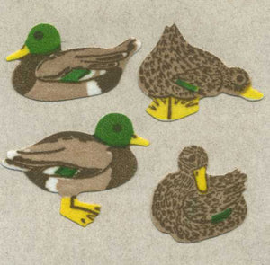 Pack of Furrie Stickers - Mallard Ducks