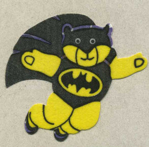 Pack of Furrie Stickers - Bat Ted
