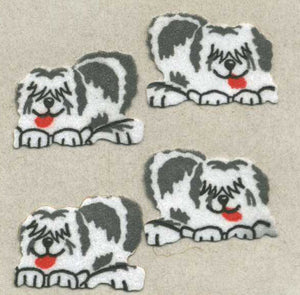 Pack of Furrie Stickers - Sheepdogs