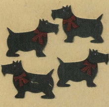 Load image into Gallery viewer, Pack of Furrie Stickers - Black Scotties