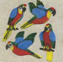 Load image into Gallery viewer, Pack of Furrie Stickers - Parrots