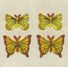 Load image into Gallery viewer, Pack of Furrie Stickers - Yellow Butterflies