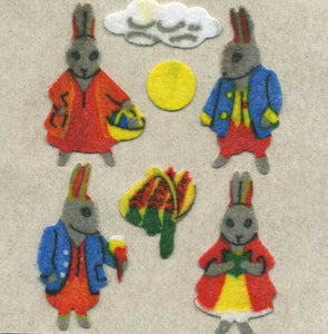 Pack of Furrie Stickers - Rabbits
