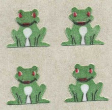 Load image into Gallery viewer, Pack of Furrie Stickers - Frogs Sitting