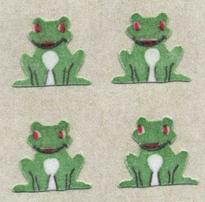 Pack of Furrie Stickers - Frogs Sitting