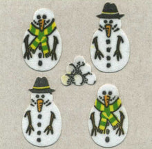 Load image into Gallery viewer, Pack of Furrie Stickers - Snowmen