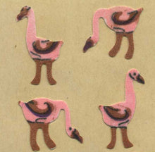Load image into Gallery viewer, Pack of Furrie Stickers - Flamingoes