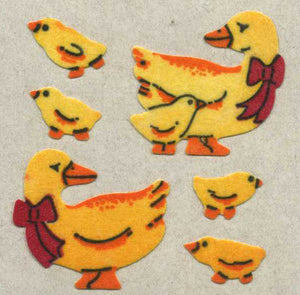 Pack of Furrie Stickers - Duck Family
