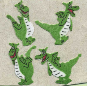 Pack of Furrie Stickers - Dragons