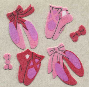 Pack of Furrie Stickers - Ballet Shoes