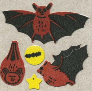 Pack of Furrie Stickers - Bats