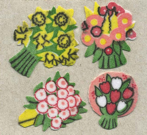 Pack of Furrie Stickers - Floral Posies