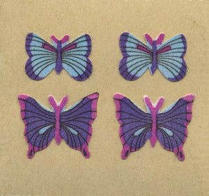 Pack of Furrie Stickers - Blue Butterflies