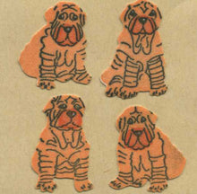 Load image into Gallery viewer, Pack of Furrie Stickers - Shar Peis