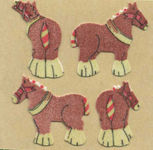 Load image into Gallery viewer, Pack of Furrie Stickers - Shire Horses