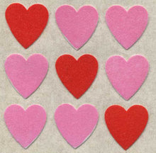 Load image into Gallery viewer, Pack of Furrie Stickers - Pink Hearts