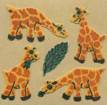 Load image into Gallery viewer, Pack of Furrie Stickers - Giraffes