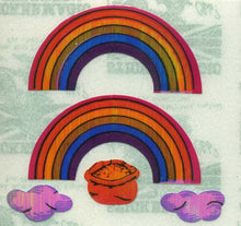 Load image into Gallery viewer, Pack of Pearlie Stickers - Rainbows