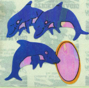 Pack of Pearlie Stickers - Dolphins