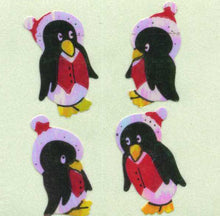 Load image into Gallery viewer, Pack of Pearlie Stickers - Winter Penguins