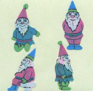 Pack of Pearlie Stickers - Gnomes