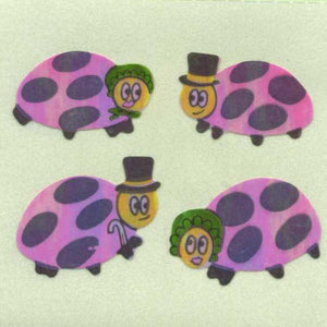 Pack of Pearlie Stickers - Ladybird