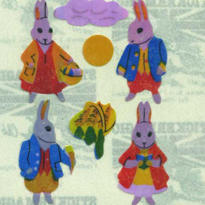 Pack of Pearlie Stickers - Rabbits