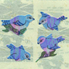 Load image into Gallery viewer, Pack of Pearlie Stickers - Blue Birds