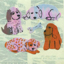 Load image into Gallery viewer, Pack of Pearlie Stickers - Puppies & Bone
