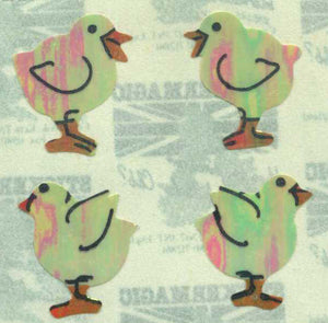 Pack of Pearlie Stickers - Chicks