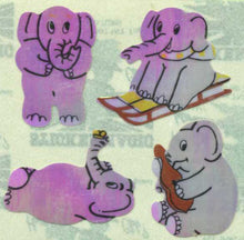 Load image into Gallery viewer, Pack of Pearlie Stickers - Elephants