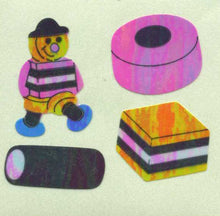 Load image into Gallery viewer, Pack of Pearlie Stickers - Liquorice Allsorts